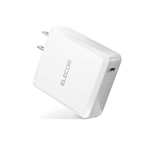 エレコム USB コンセント PD 充電器 18W Type-Cポート×1 【 iPhone/Android/タブレット 対応 】 ホワイト MPA-ACCP06WH