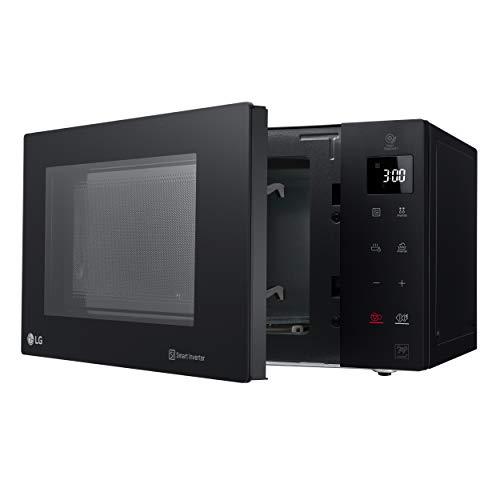 LG - Micro-ondes Grill Smart Inverter Noir