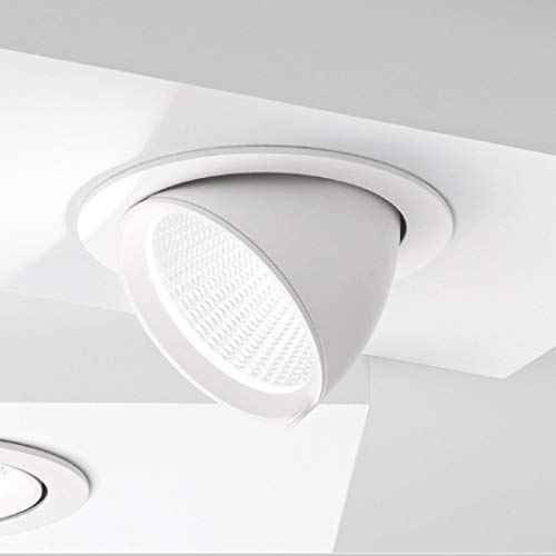 Faretto Incasso Alluminio Gea Led Gfa910 Led Spot Orientabile Inclinazione Regolabile Controsoffitto 20w 1600lm 1700lm Ip20, 4000°k (luce naturale)