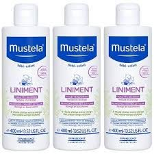 Mustela Liniment Lot de 3 x 400 ml (dont 1 Flacon Pompe)