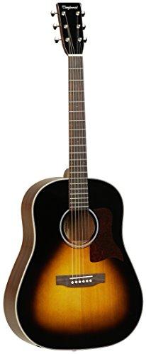 Tanglewood SolidTop Spruce/Mahogny Guitar, Sunburst Gloss (TW40-SD-VS)