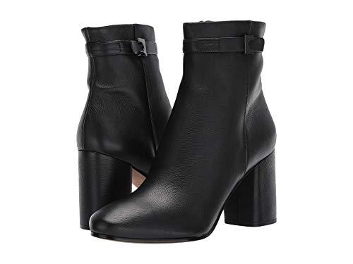 Diane von Furstenberg Rhonda Black Smooth Leather 8.5 M