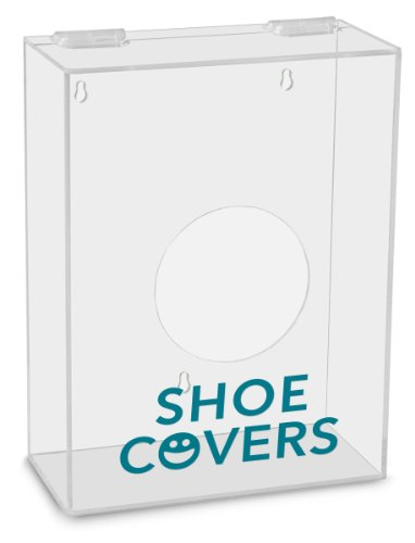 TrippNT 51316 Shoe Covers Labeled Small Apparel Dispenser, 9' Width x 12' Height x 4' Depth