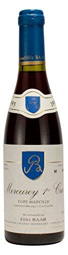 Mercurey 1er Cru Clos Marcilly 1995 - Pinot Noir Burgunder, Alter Wein, Frankreich, Bourgogne, Côte Chalonnaise, Rot-wein, Trocken (375ml Flasche)