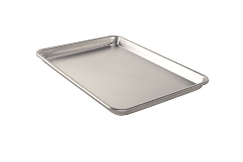 Nordic Ware Natural Aluminum NonStick Commercial Baker's Half Sheet by...