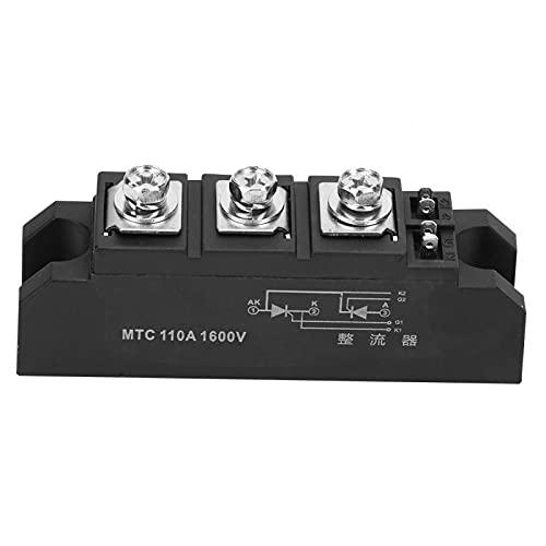 Módulo de tiristor, módulo de diodo rectificador MTC110A 1600V Módulo de tiristor controlado por silicio bidireccional