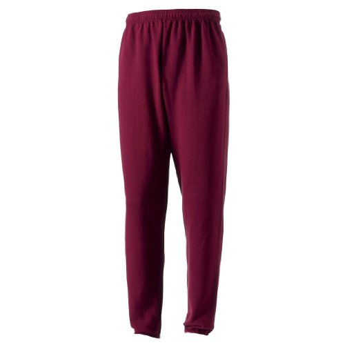 Jerzees - Pantalon de Sport - Garçon - Rouge - 37/38 FR
