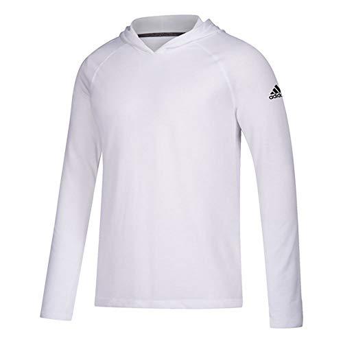 adidas Ultimate Training Hooded Tee - Men's Training XL White