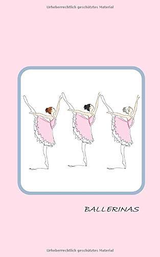 Ballerinas: Notizbuch für Kinder mit Seiten zum Ausfüllen,Einkleben,Schreiben,Zeichnen und Ausmalen