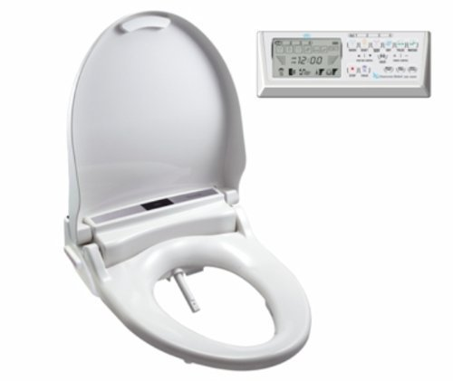 Clean Sense dib-1500R Bidet Seat Round with Remote...