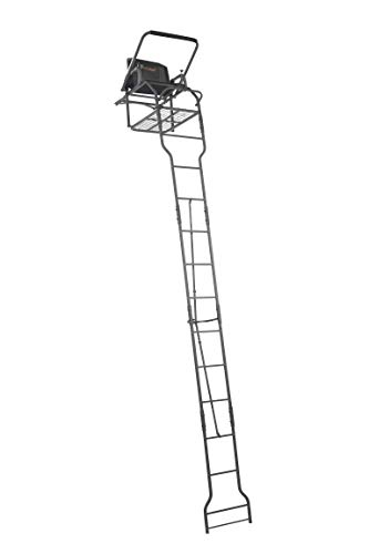 OL'MAN TREESTANDS Assassin 17' Single Ladder Stand with Millennium Style ComfortMax Seat