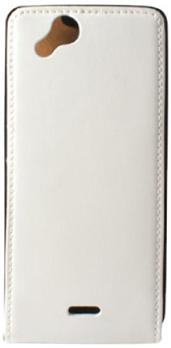 Ksix B3425FU702 - Funda de piel con tapa para Sony Ericsson Xperia...
