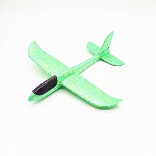 AMOYER Schaum Flugzeug-Modell Flugzeug Für Handeinführung Kinder Im Freien Spielen Spielzeug 1 Pc Grün 48 cm