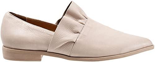 Bueno Women's Burcu Casual Slip-On Loafers Grey