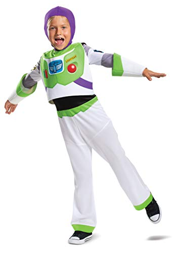 Buzz Lightyear Classic Toy Story 4 Child Costume, M (3T-4T)