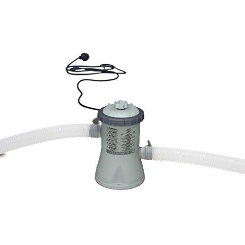 Intex Krystal Clear Cartridge Filter Pump - Pool Kartuschenfilteranlage - 330 L/H - 12V