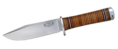 Fallkniven NL4 Fine Edge Fixed Blade Knife, Brown