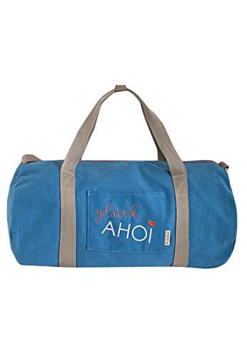 Adelheid Glück Ahoi Reisetasche, Größe:ohne Größe, Farbe:meerblau