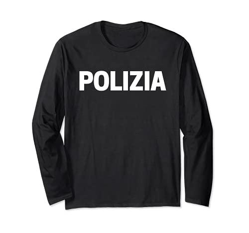 Disfraz de polica italiana de uniformes Manga Larga