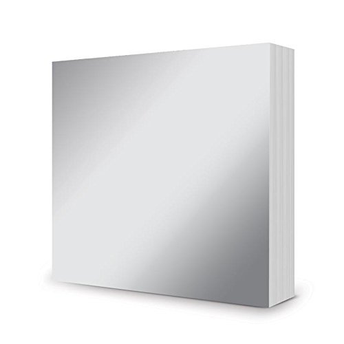 Hunkydory Mirri Matts 100 Mirri Sheets in Stunning Silver 6x6  Mirror Board MCDM104
