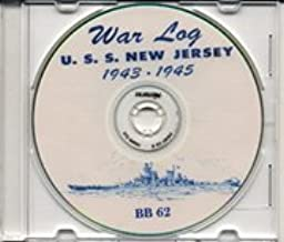 USS New Jersey BB 62 WWII Cruise Book