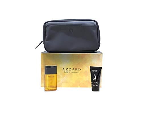 Azzaro Homme EDT-S und Duschgel und Reisetasche 2,857 kg