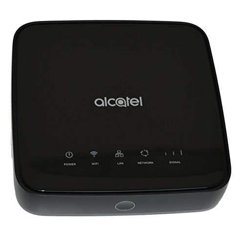 Alcatel Linkhub HH40 Cube 2 Internet WLAN Box SIM Karte oder Kabel schwarz - offen für alle Netze