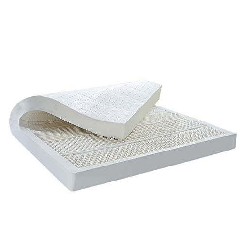 Single Mattress, Latex Foam Mattress, High Elasticity | Pressure Relief, Double Foam Support System,200CM*200CM-5cm
