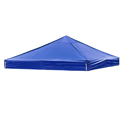 Yescom 10' x 10' EZ Pop Up Canopy Top Replacement Instant Patio Pavilion Gazebo Sunshade Tent Oxford Cover Navy