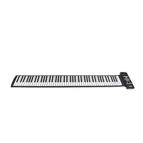 GUOQING Viaggio Pieghevole 88 Tasti Flessibili Elettrico Tastiera Digitale Roll Up Piano Portatile