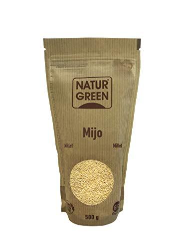 NaturGreen Mijo Bio 500g, amarillo