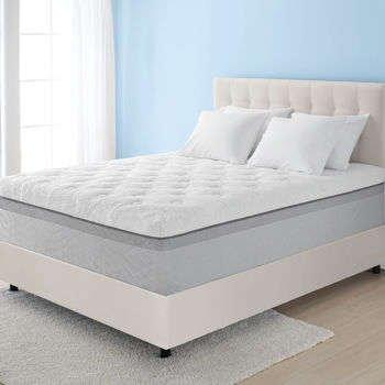 Novaform 14' Comfort Grande King Memory Foam Mattress, 3' Gel Memory Foam, 3' Air Channel Foam, 8' Base Layer Foam
