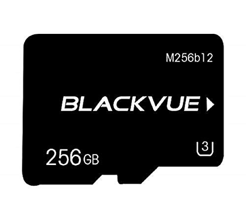Blackvue Official 256GB Replacement microSD Card (Designed specifically for dash cams)