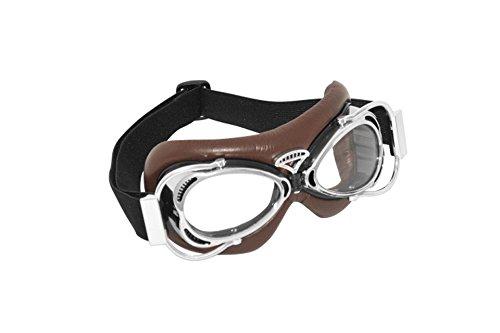 HIGHWAY HAWK Brille Dakota braun/chrom