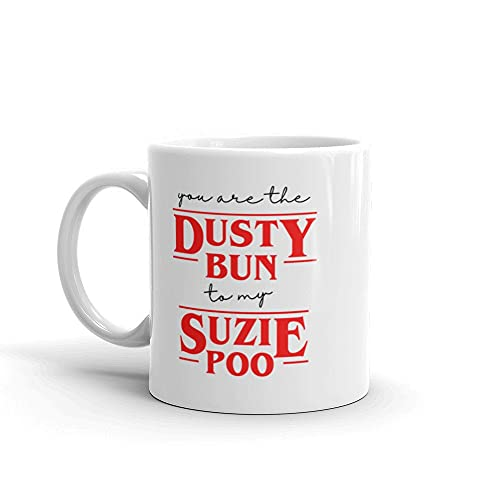 Funny Coffee Mug Stranger Things Inspired Coffee Mug/Cup Funny Stranger Things Gifts for Girlfriend, Boyfriend Mug 11 oz