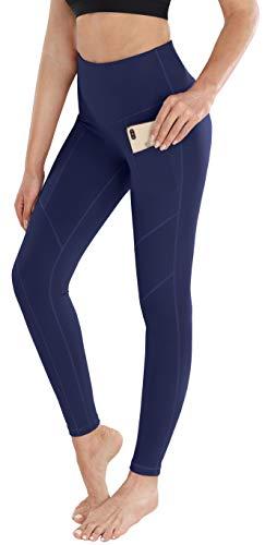 ESPIDOO Yoga Pants with Pockets for Women High Waist Athletic Leggings XS