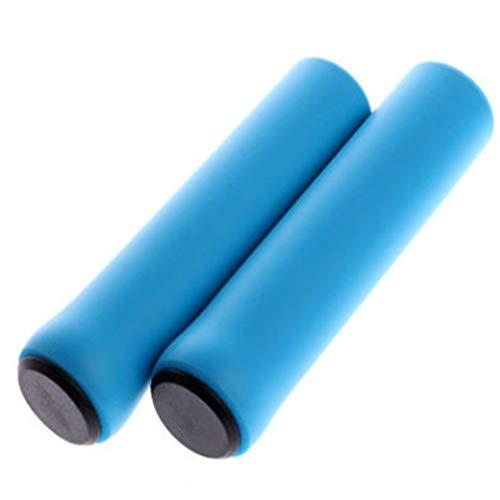 LoveAloe Fahrradlenkergriffe Fahrradgriffe für Kinder Mädchen Jungen rutschfeste Griffe, Blau
