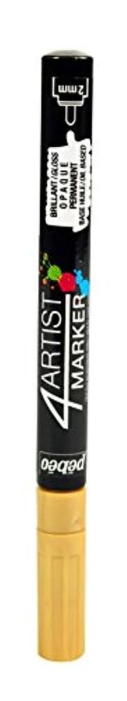 Pebeo 4Artist Marker, Oil Paint Marker, 2 mm - Gold