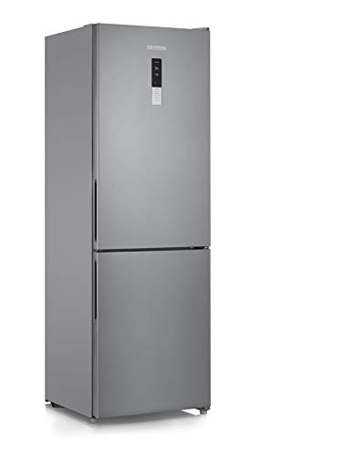 SEVERIN Frigorífico/congelador 223 L/94 L, KGK 8943, inox [clase energética E]