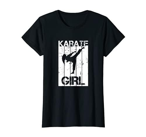 Mädchen Karate Anzug Karate Uniform Kampfkunst T-Shirt