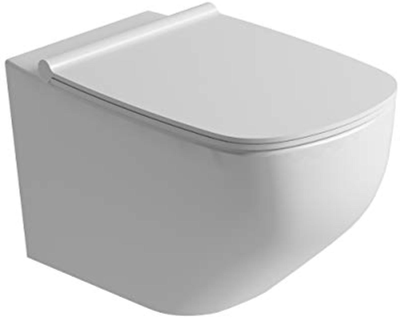 CHRIS BERGEN Jil     spülrandloses Tiefspül-WC     wandhngend