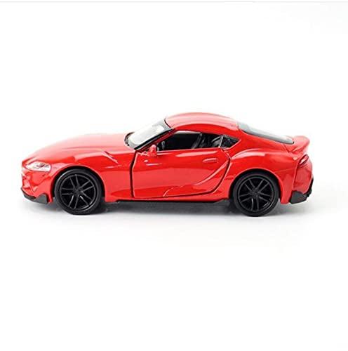LXLN Modelo de Auto 1:36 Modelo De Automóvil Deportivo Supra □ Modelo De Automóvil De Metal Modelo De Puerta Abierta Decoración De Escritorio para Niños.