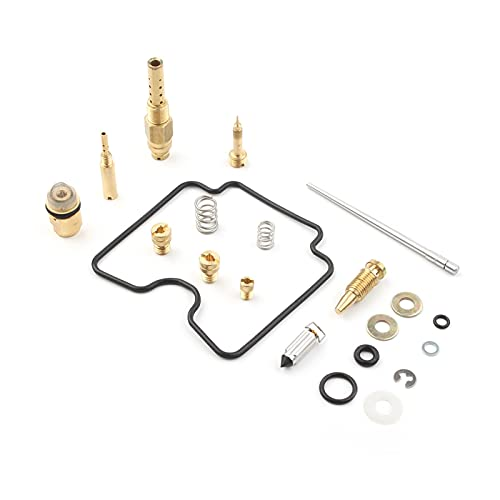 GGIS Motociclo CARBURATORE Kit di riparazione kit di ricostruzione di carboidrati adatti for Suzuki Z400 LTZ400 LT- Z400 2003 2004 2005 2006 2007 2008 2008