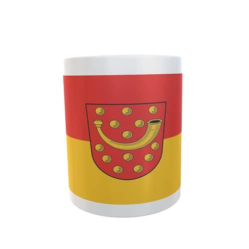 U24 Tasse Kaffeebecher Mug Cup Flagge Nordhorn