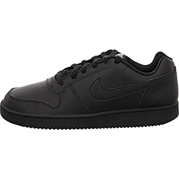 Nike Men s Ebernon Low Basketball Shoe Black/Black 10 Regular US