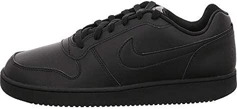 Nike Men's Ebernon Low Basketball Shoe, Black/Black, 11 Regular US