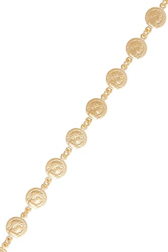 Córdoba Jewels | Pulsera en Plata de Ley 925 bañada en Oro diseño Derario Gold