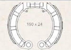 Mâchoires de frein pour pIAGGIO vespa pX 125 – 150 cc 225120570