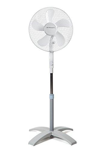 Orbegozo SF 0440 – Ventilador de pie con movimiento oval, 3 velocidades, 40 cm de diámetro y potencia de 60 W