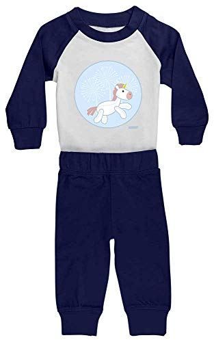 Hariz - Pijama de bebé, unicornio, diente de león, animales, jardín de...